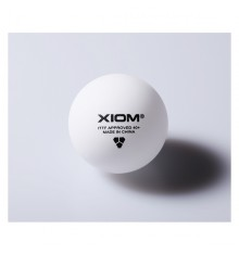 XIOM ITTF 40+ Seamless Plastic Ball (3 PACK BOX)