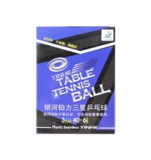 Yinhe 3 Star 40+ Seamless Plastic Ball (6 PACK BOX)
