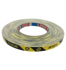 Andro Edge Tape CI Black Yellow (50M)