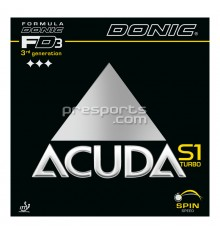Donic Acuda S1 Turbo Rubber